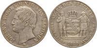 Ausbeutetaler 1860  B Sachsen-Albertinische Linie Johann 1854-1873. Seh... 75,00 EUR kostenloser Versand