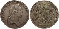 Ausbeutetaler 1781 Sachsen-Albertinische Linie Friedrich August III. 17... 275,00 EUR  +  5,00 EUR shipping