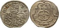 Dreier 1658 Sachsen-Neu-Weimar Wilhelm 1640-1662. Sehr schön-vorzüglich  20,00 EUR kostenloser Versand