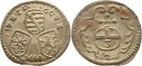 Dreier 1660 Sachsen-Neu-Weimar Wilhelm 1640-1662. Sehr schön+  15,00 EUR kostenloser Versand