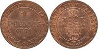 1 Pfennig 1871  B Sachsen-Albertinische Linie Johann 1854-1873. Prachte... 40,00 EUR kostenloser Versand