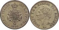 1/6 Taler 1866  B Sachsen-Albertinische Linie Johann 1854-1873. Patina,... 25,00 EUR kostenloser Versand