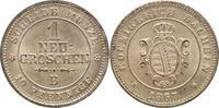 1 Neugroschen 1867  B Sachsen-Albertinische Linie Johann 1854-1873. Vor... 50,00 EUR kostenloser Versand