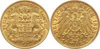 10 Mark Gold 1893  J Hamburg  gutes sehr schön  250,00 EUR kostenloser Versand