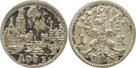 1 Kreuzer 1773  B Frankfurt-Stadt  Fleckig, sehr schön-vorzüglich  10,00 EUR kostenloser Versand