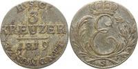3 Kreuzer 1819  S Sachsen-Coburg-Saalfeld Ernst 1806-1826. Winz. Schröt... 25,00 EUR kostenloser Versand