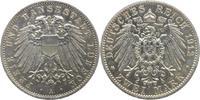 2 Mark 1912  A Lübeck  Kleiner Kratzer, winz. Randfehler, vorzüglich-St... 195,00 EUR kostenloser Versand