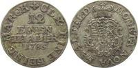 1/12 Taler 1785 Sachsen-Coburg-Saalfeld Ernst Friedrich 1764-1800. Selt... 55,00 EUR kostenloser Versand