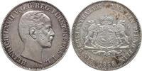 Vereinstaler 1858  A Reuss-jüngere Linie vereinigt seit 1848 Heinrich L... 195,00 EUR  plus 5,00 EUR verzending