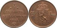 1/2 Skilling 1841 Norwegen Carl XIV. Johan 1818-1844. Schöne Patina, vo... 125,00 EUR  plus 5,00 EUR verzending