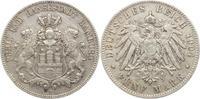 5 Mark 1904  J Hamburg  Sehr schön  30,00 EUR kostenloser Versand
