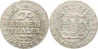 1/24 Taler 1757 Brandenburg-Preußen Friedrich II. 1740-1786. Äußerst se... 495,00 EUR kostenloser Versand