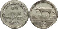 1/24 Taler 1822 Anhalt-Bernburg Alexius Friedrich Christian 1796-1834. ... 35,00 EUR kostenloser Versand