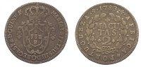 2 Macutas 1783 Portugal-Angola Maria I. und Pedro III. 1777-1786. Sehr ... 195,00 EUR  zzgl. 5,00 EUR Versand