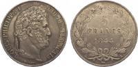 5 Francs 1844  A Frankreich Louis Philipp 1830-1848. Schöne Patina. Fas... 325,00 EUR kostenloser Versand