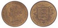 Cu 1/26 Shilling 1866 Großbritannien-Jersey Victoria 1837-1901. Vorzügl... 250,00 EUR kostenloser Versand