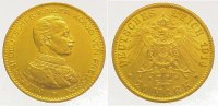 Preußen 20 Mark  Gold Wilhelm II. 1888-1918.