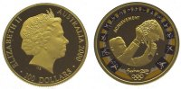 Australien 100 Dollars  Gold Elizabeth II. seit 1952.