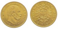Preußen 5 Mark  Gold Wilhelm I. 1861-1888.