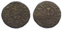 Cu Pfennig 1591 Münster, Domkapitel  Prägeschwäche, sehr schön  85,00 EUR  zzgl. 5,00 EUR Versand