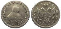 1/4 Rubel (Polupoltinnik) 1746 Russland Elisabeth I. Petrowna 1741-1761... 385,00 EUR kostenloser Versand