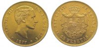 25 Pesetas Gold 1877 Spanien-Königreich Alfons XII. 1874-1885. Sehr sch... 345,00 EUR kostenloser Versand