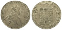 Sachsen-Albertinische Linie Taler Xaver 1763-1768.