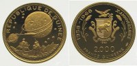 2000 Francs Gold 1969 Guinea Republik seit 1958. Polierte Platte  385,00 EUR kostenloser Versand
