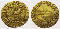 Portugal Cruzado Gold 1521-1557 Sehr schn...