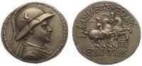 Tetradrachme  171-145  v. Chr. Baktria Euk...