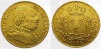 Frankreich 20 Francs  Gold 1815 A Sehr sch&ouml;n - vorz&uuml;glich Ludwig XVIII. ... 315,00 EUR 