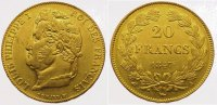 Frankreich 20 Francs  Gold 1847 A Vorz&uuml;glich Louis Philipp 1830-1848. 335,00 EUR 