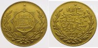 Afghanistan Tilla  Gold Amanullah 1901-1919.