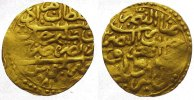 Sultani Gold 982 AH Libyen Murad III. AH 9...