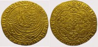 Grobritannien Half Noble ( Gold Edward III. 1327-1377.