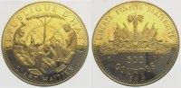 500 Guerdes Gold 1969 Haiti Republik nach 1863. Polierte Platte  3975,00 EUR kostenloser Versand