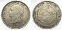 5 Decimos 1885 Kolumbien Vereinigte Staaten von Kolumbien 1862-1886. Äu... 175,00 EUR  zzgl. 5,00 EUR Versand