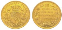 Gold  1848-1864 Bayern Maximilian II. Jose...