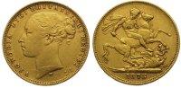 Sovereign Gold 1878  M Australien Victoria 1837-1901. Sehr schön  345,00 EUR kostenloser Versand