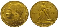 50 Lire Gold 1912  R Italien-Königreich Vi...