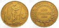 100 Francs Gold 1886  A Frankreich Dritte Republik 1870-1940. Fast vorz... 1375,00 EUR kostenloser Versand