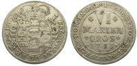6 Mariengroschen 1711  JW Münster, Bistum Franz Arnold von Metternich 1... 60,00 EUR  zzgl. 5,00 EUR Versand