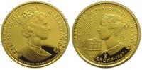1/5 Crown Gold 1992 Großbritannien-Gibraltar  Polierte Platte  285,00 EUR kostenloser Versand
