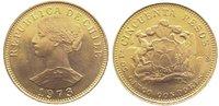 50 Pesos Gold 1973 Chile Republik seit 1818. Fast Stempelglanz  465,00 EUR kostenloser Versand