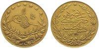 100 Piaster Gold 1327 AH Türkei Muhammad V. (AH 1327-1336) 1909-1918. F... 345,00 EUR kostenloser Versand
