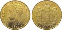5000 Reis Gold 1886 Portugal Luis I. 1861-1889. Vorzüglich  625,00 EUR kostenloser Versand