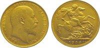 Pound Gold 1904  M Australien Edward VII. 1901-1910. Sehr schön - vorzü... 345,00 EUR kostenloser Versand