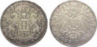 5 Mark 1913  J Hamburg  Winz. Kratzer, Vorzüglich - Stempelglanz  185,00 EUR  zzgl. 5,00 EUR Versand