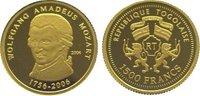 1500 Francs Gold 2006 Togo  Polierte Platte  64,00 EUR  zzgl. 5,00 EUR Versand