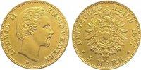 5 Mark Gold 1877  D Bayern Ludwig II. 1864-1886. Vorzüglich - Stempelgl... 825,00 EUR kostenloser Versand